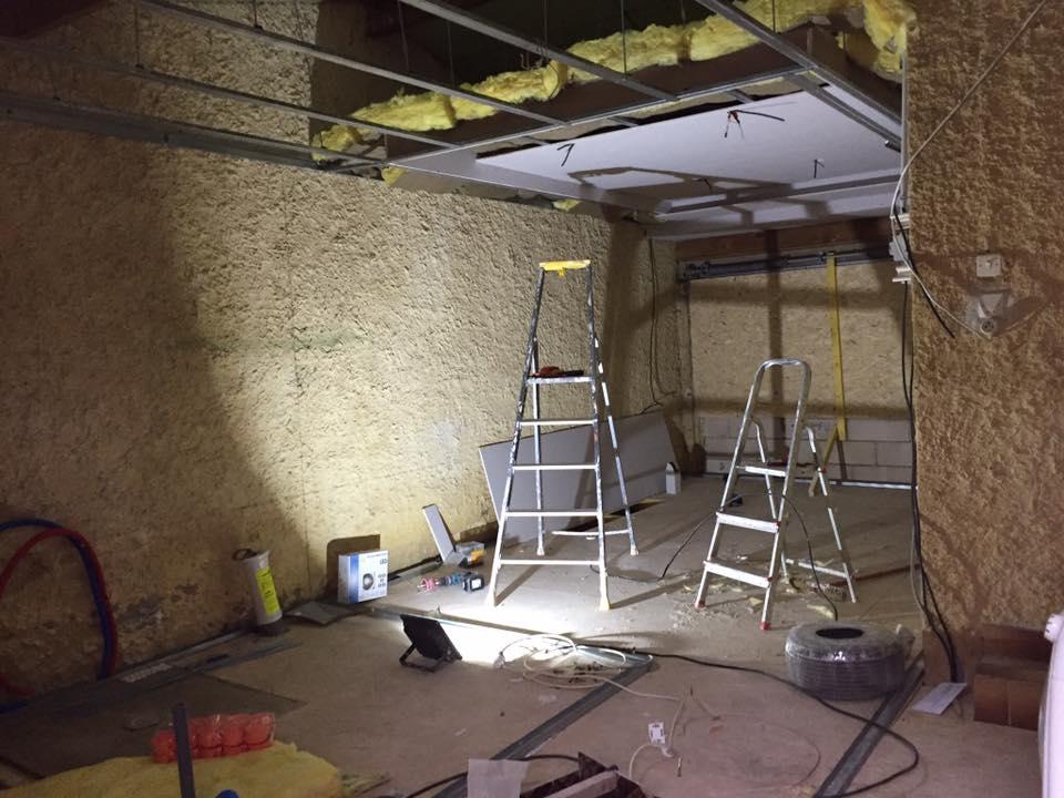 Rénovation totale de l'habitation